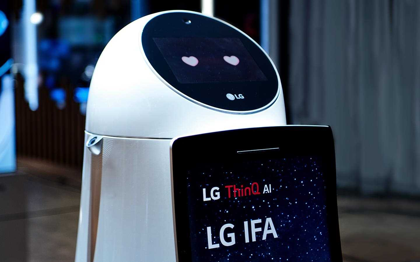 IFA 2018: CLOi GuideBot on show LG's AI-focused exhibition