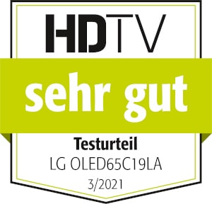 Rezultat testa LG OLED65C19LA HDTV je zelo dober.