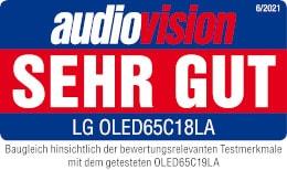 Rezultati testa LG OLED65C18LA Audiovision so zelo dobri.
