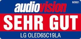 Rezultati testa LG OLED65C19LA Audiovision so zelo dobri.