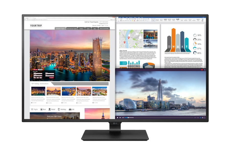 LG Alle Monitore 43UD79-B 1