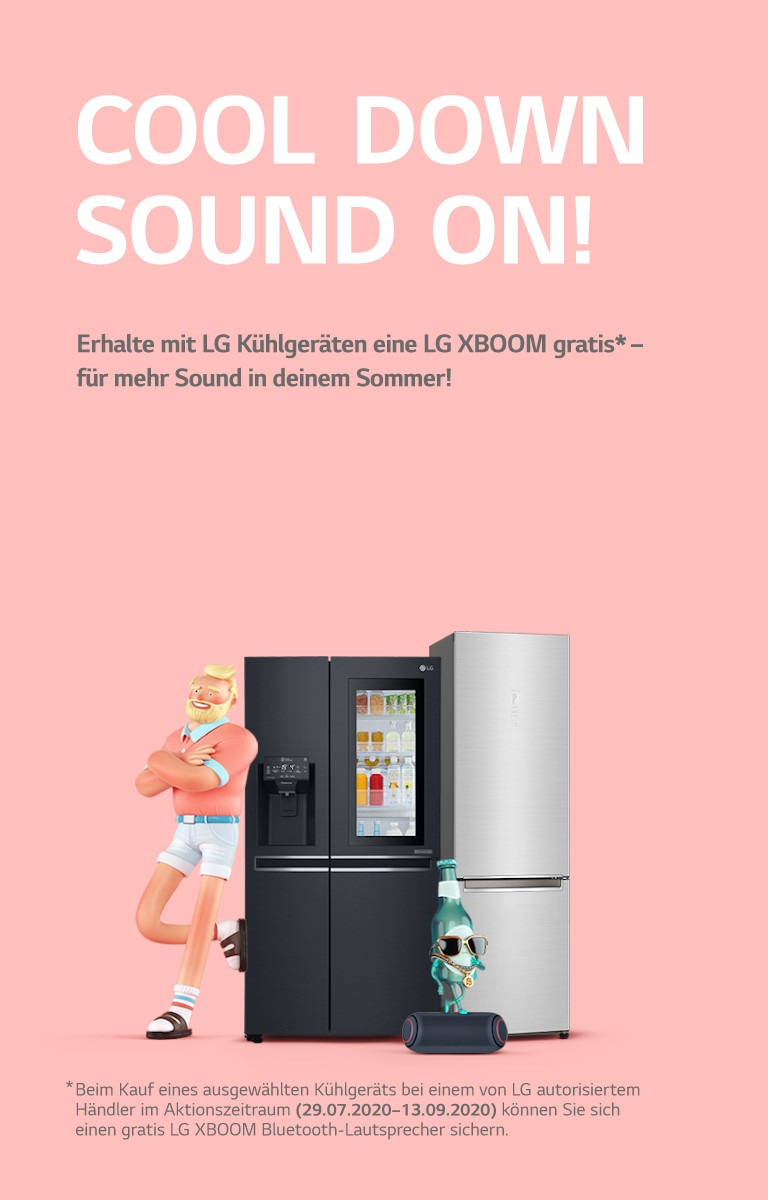 LG Cool Down Sound On Sommerkampagne InstaView