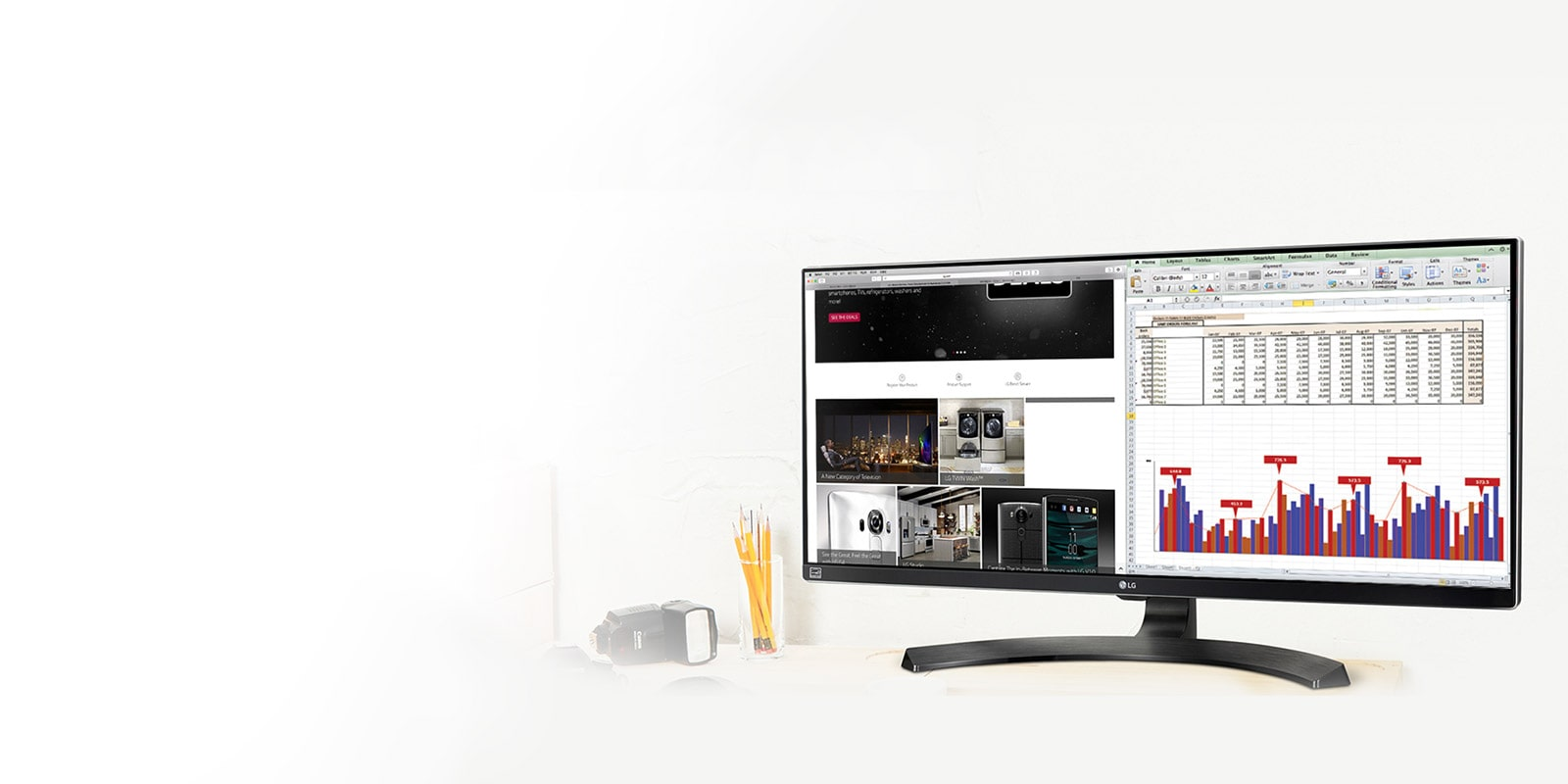 Business Monitore von LG