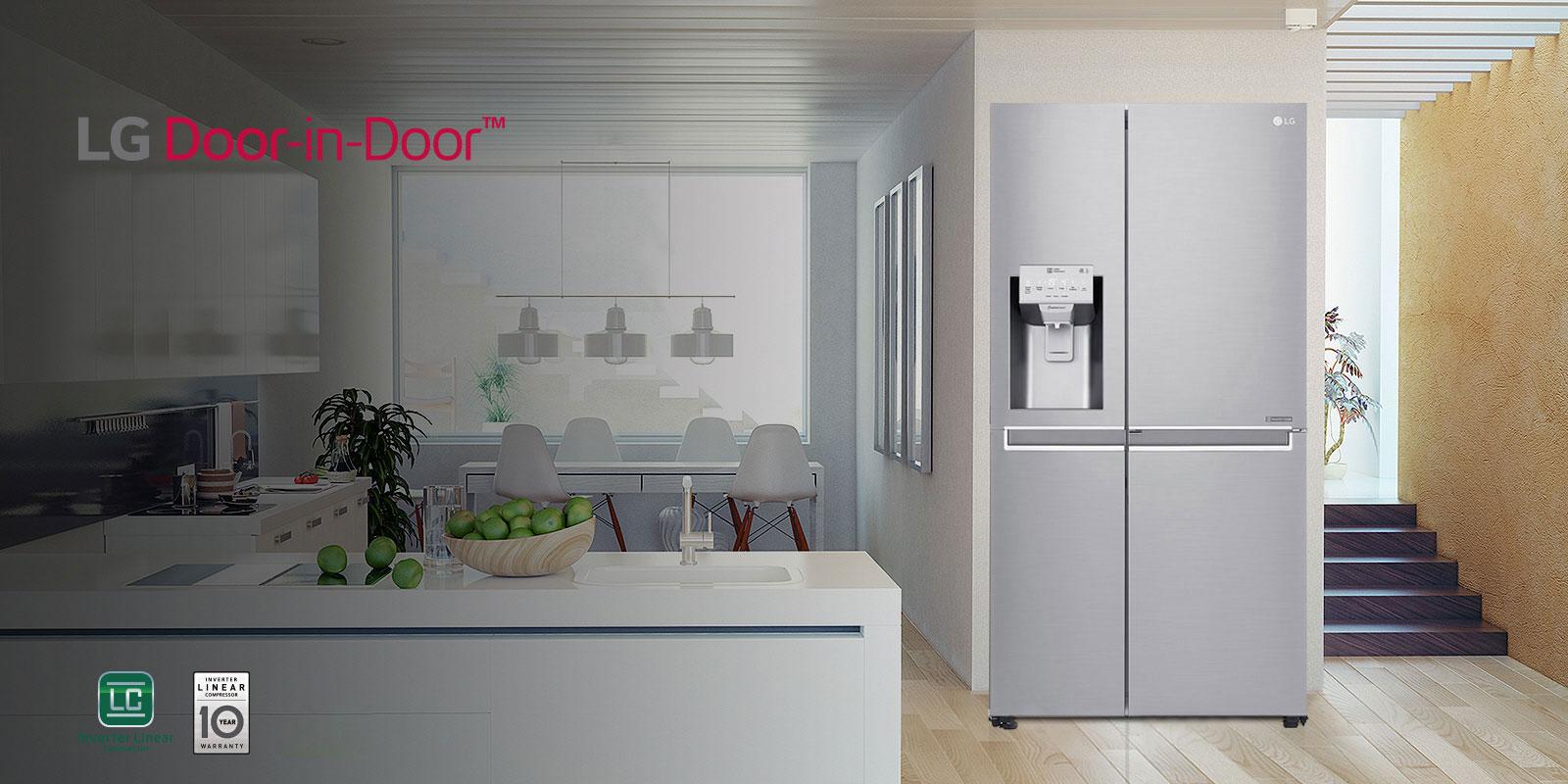 Side-by-Side-Kühlschränke | Amerikanische Kühlschränke | LG ... | {Amerikanische kühlschränke 46}