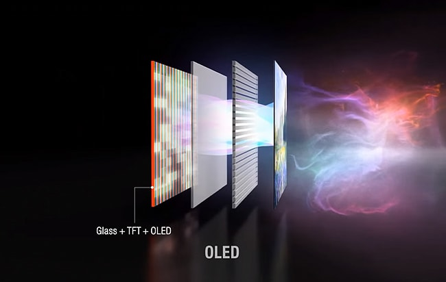 LG OLED TV with Pixel Dimming