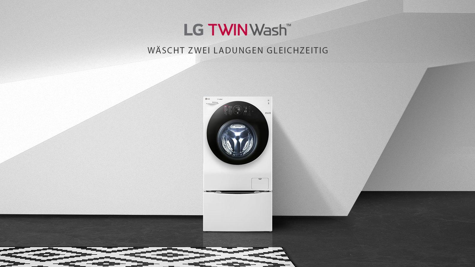 lg twinwash waschtrockner 12 8 kg kompatibel mit mini. Black Bedroom Furniture Sets. Home Design Ideas