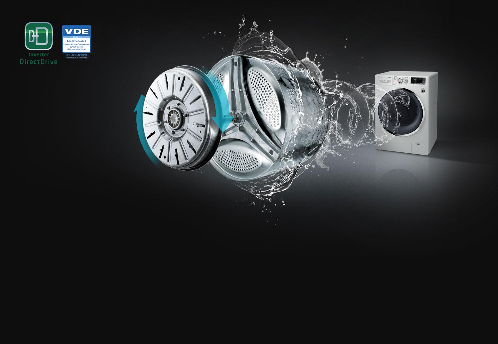 lg waschmaschine 9 kg steam turbowash a 30. Black Bedroom Furniture Sets. Home Design Ideas