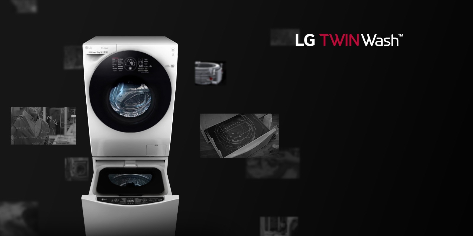 Let's twash it mit LG TWINWASH™