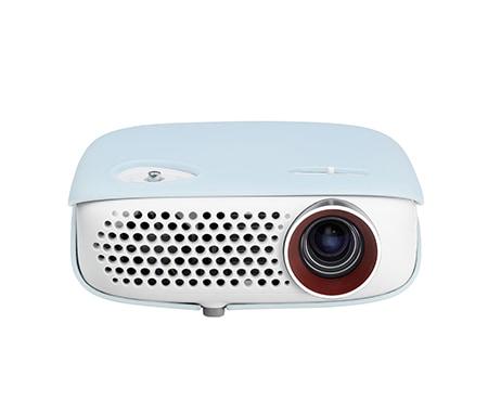 lg portabler led projektor mit integriertem tv tuner hd. Black Bedroom Furniture Sets. Home Design Ideas