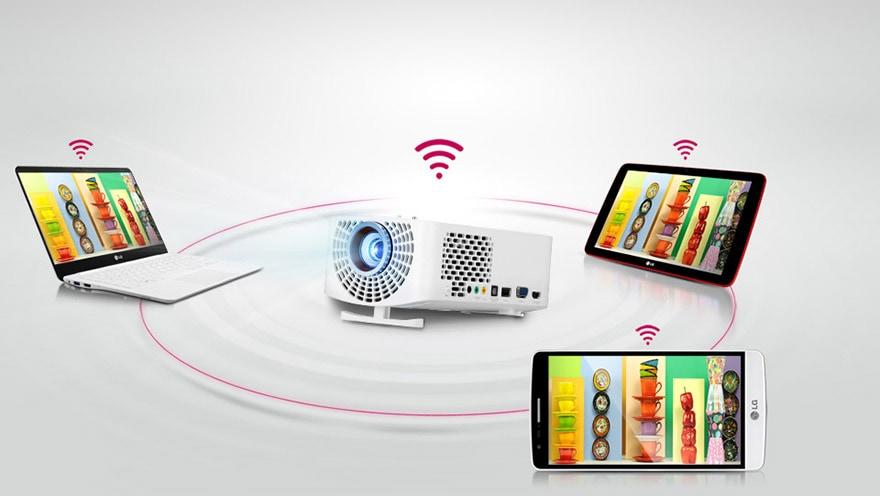 Kabellose Bildübertragung von mobilen Endgeräten