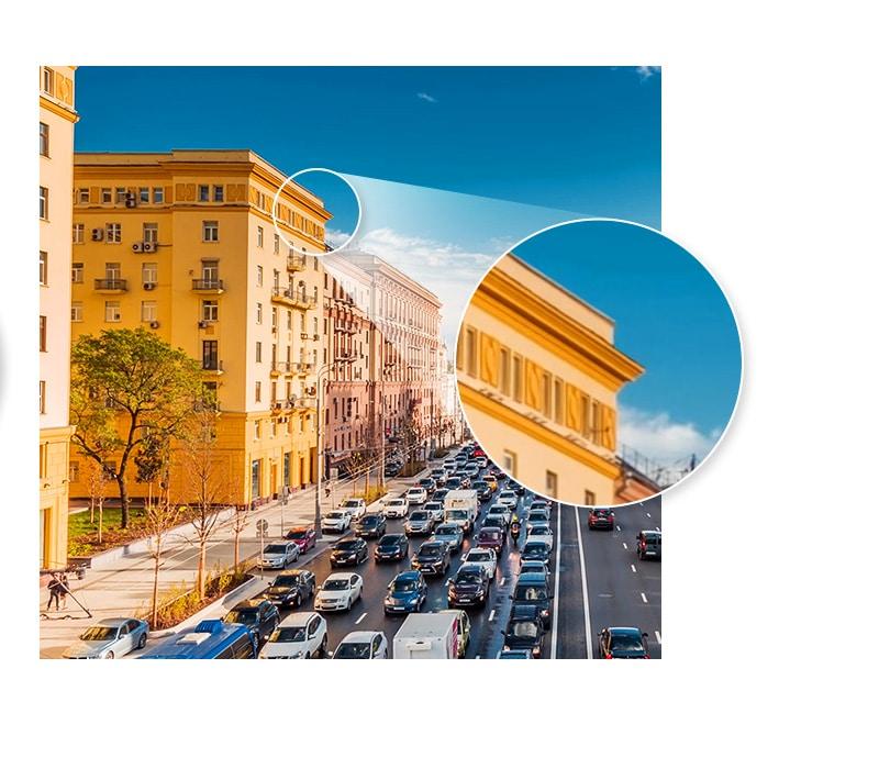 Bilder von UHD 4K mit 8,3 Megapixeln