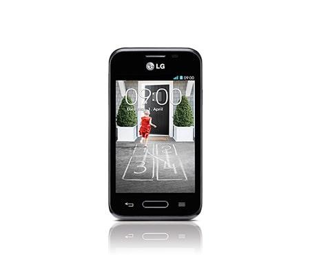 Lg l40 kompaktes design smartphone mit knock code for Minimalistisches smartphone