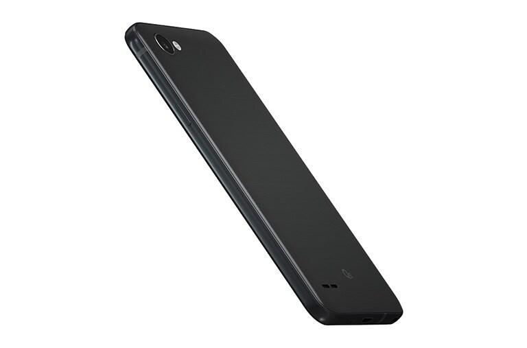 Lg q6 smartphone schwarz lg deutschland for Minimalistisches smartphone