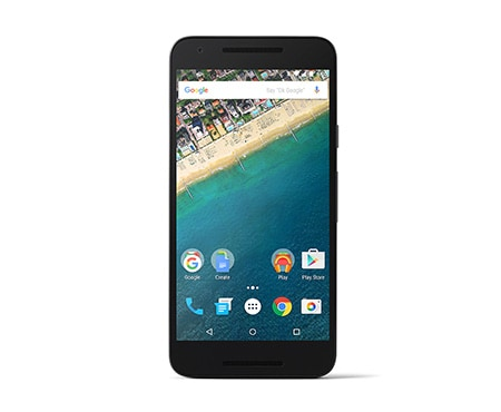 LG Alle Android Smartphones Google Smartphone mit Android 6.0 Marshmallow, 1,8-GHz-Hexa-Core-Prozessor, 13,2 cm (5,2 Zoll) Full HD IPS-Display und 12,3-Megapixel-Kamera mit HDR+ 1