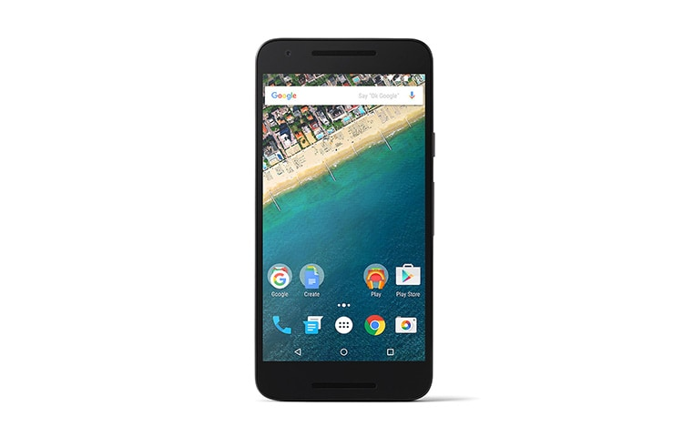 LG Alle Android Smartphones Google Smartphone mit Android 6.0 Marshmallow, 1,8-GHz-Hexa-Core-Prozessor, 13,2 cm (5,2 Zoll) Full HD IPS-Display und 12,3-Megapixel-Kamera mit HDR+ thumbnail 1