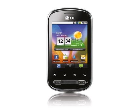 lg smartphone mit 7 11 cm 2 8 kapazitivem touchscreen. Black Bedroom Furniture Sets. Home Design Ideas