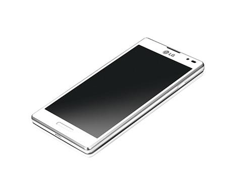 Smartphone lg p760 optimus l9 mit dem markanten l style