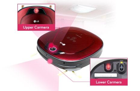 staubsauger roboter hombot square von lg mit dual kamera system. Black Bedroom Furniture Sets. Home Design Ideas
