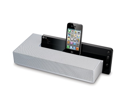 lg nd4520 dockingstation f r apple ipod iphone ipad. Black Bedroom Furniture Sets. Home Design Ideas