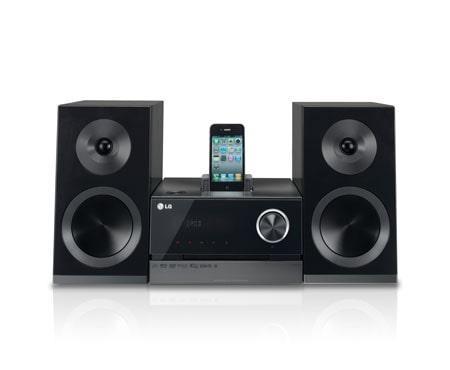 LG XA146 Micro-Hi-Fi-Anlage mit Radio und Sleep Timer