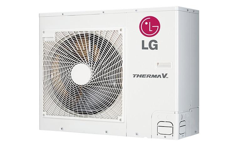 Lg Energieffiziente Luft Wasser Split Warmepumpe Mit Inverter
