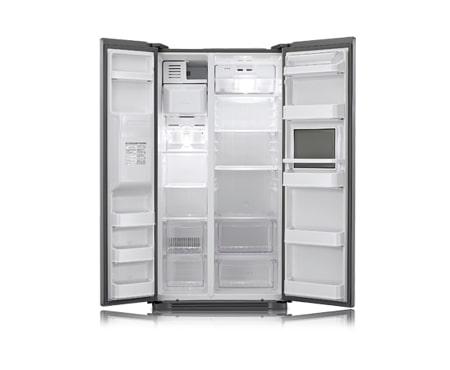 Side By Side Kühlschrank Mit Barfach : Side by side kühlschrank mit soft touch barfach lg gs3159pvav1