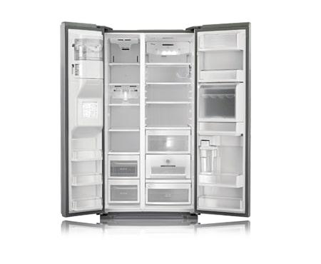 side by side k hlschrank gs5162aelz von lg mit fresh o zone. Black Bedroom Furniture Sets. Home Design Ideas