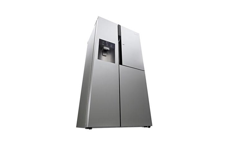 Aeg Kühlschrank Wasserfilter Wechseln Anleitung : Lg gs pzyzd side by side kühlschrank a lg deutschland