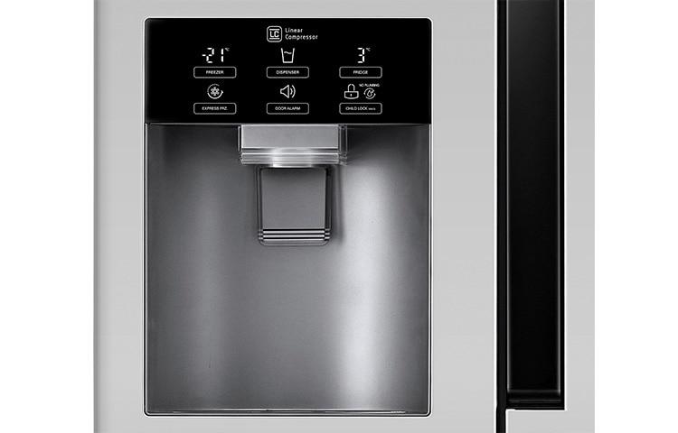 Kühlschrank Lg : Lg gs pzyzl side by side kühlschrank a lg deutschland