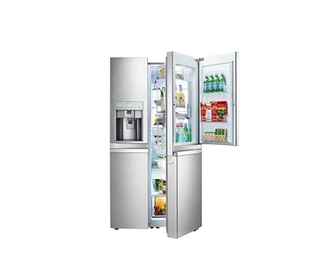 Amerikanischer Kühlschrank Maße : Lg gsj976nsbz side by side kühlschrank a lg deutschland