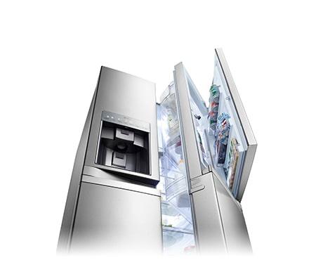 Amerikanischer Kühlschrank Von Lg : Lg gsj nsbz side by side kühlschrank a lg deutschland