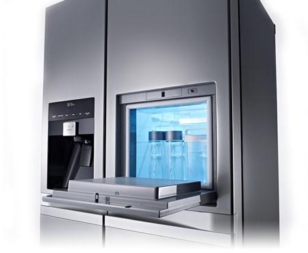 Side By Side Kühlschrank Schublade : Lg gsp nsyz side by side kühlschrank mit a und eisspender