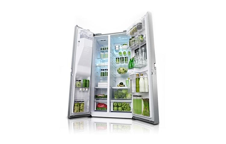 Kühlschrank Lg : Lg gsp pvyz side by side kühlschrank mit a und fesh o zone