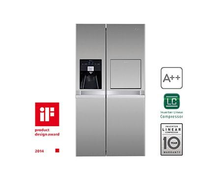 Amerikanischer Kühlschrank Media Markt : Lg gsp pvyz side by side kühlschrank a lg deutschland