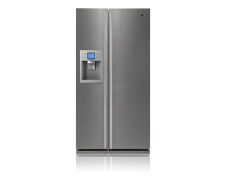 Side By Side Kühlschrank A : Lg side by side kühlschrank mit eis und wasserbereiter in der tür