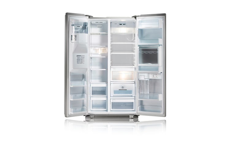 Amerikanischer Kühlschrank Ohne Wasseranschluss Test : Lg side by side kühlschrank mit homebar eis und wasserspender ohne