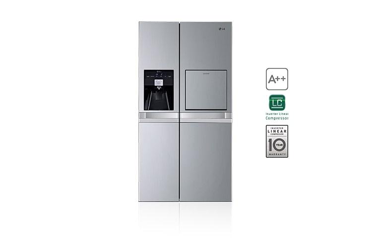 Side By Side Nur Kühlschrank : Lg gsp pvyz side by side kühlschrank mit a und fesh o zone