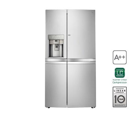 Amerikanischer Kühlschrank Lg : Lg gsj nsbz side by side kühlschrank a lg deutschland