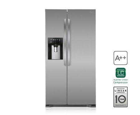 Lg Side By Side Kühlschrank Zieht Kein Wasser : Lg gsl pzyz produkt support handbucher garantie mehr lg