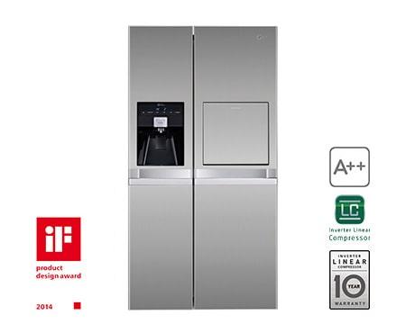 Lg Side By Side Kühlschrank Zieht Kein Wasser : Lg gsp pvyz produkt support handbucher garantie mehr lg