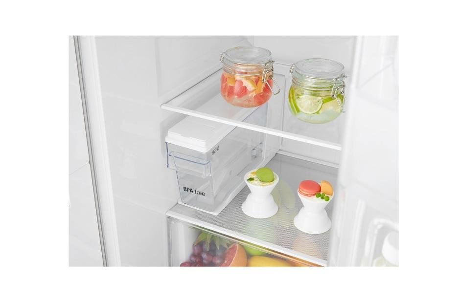Side By Side Kühlschrank Mit Wassertank : Lg gsj swxz side by side kühlschrank a lg deutschland