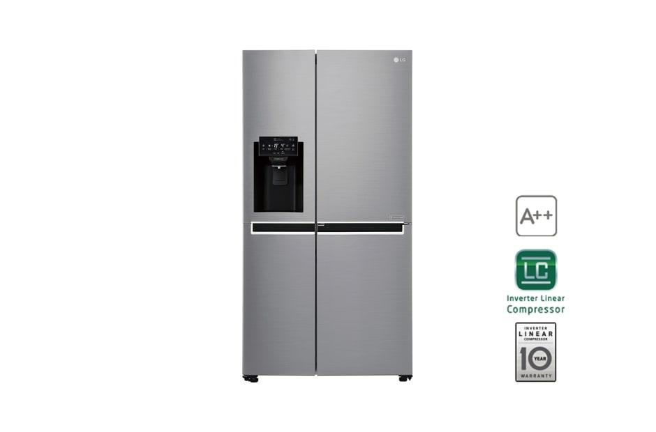 Side By Side Kühlschrank Mit Wasseranschluss : Lg gsj pzuz side by side kühlschrank a lg deutschland