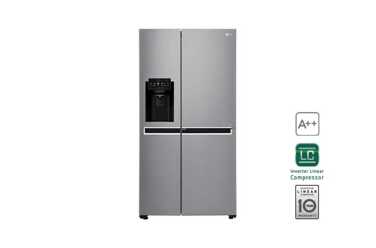 Kühlschrank French Door : Lg gsj760pzuz side by side kühlschrank a lg deutschland