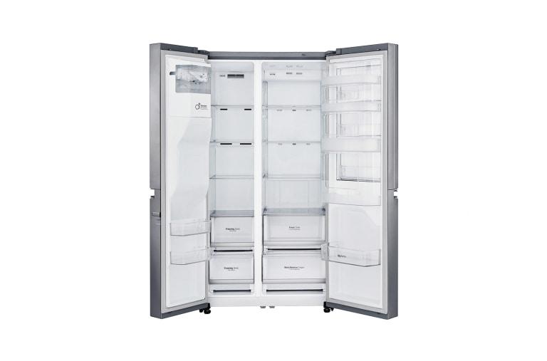 Side By Side Kühlschrank Lg Test : Lg gsj pzuz side by side kühlschrank a lg deutschland