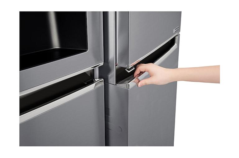 Aufbau Vom Kühlschrank : Lg gsj pztz side by side kühlschrank a lg deutschland