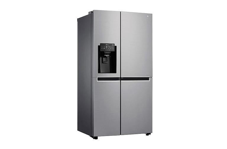 Kühlschrank Doppeltür : Side by side kühlschrank gorenje nrs bx edelstahl bei