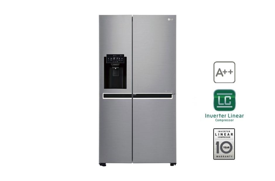 Aufbau Kühlschrank Zubehör : Lg gsj761pztz side by side kühlschrank a lg deutschland