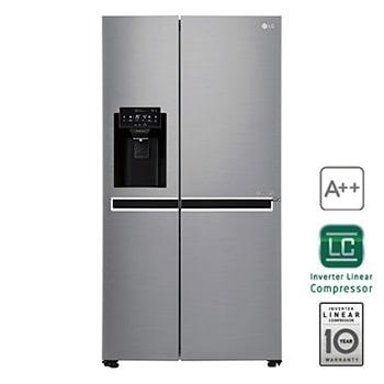 Kühlschrank Eiswürfelspender side by side kühlschränke amerikanische kühlschränke lg deutschland