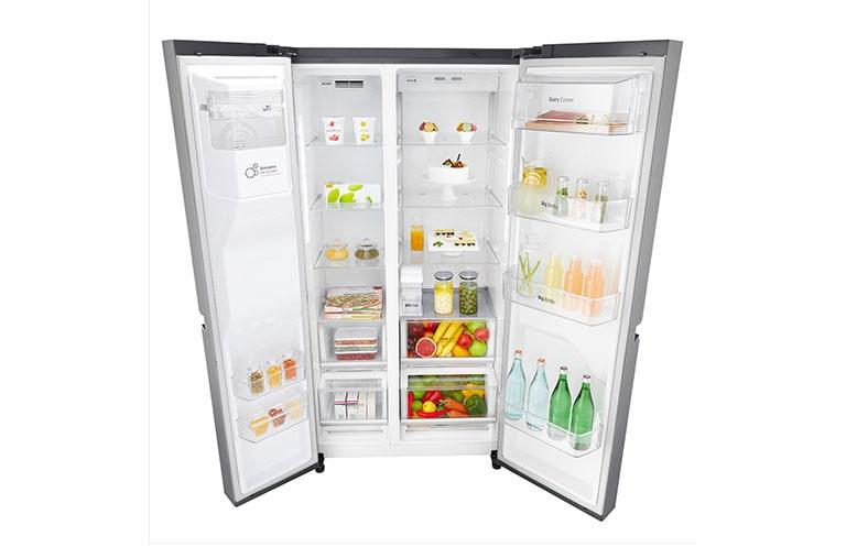 Side By Side Kühlschrank Deutschland : Grifflos küche side by side kühlschrank wohnconcepte