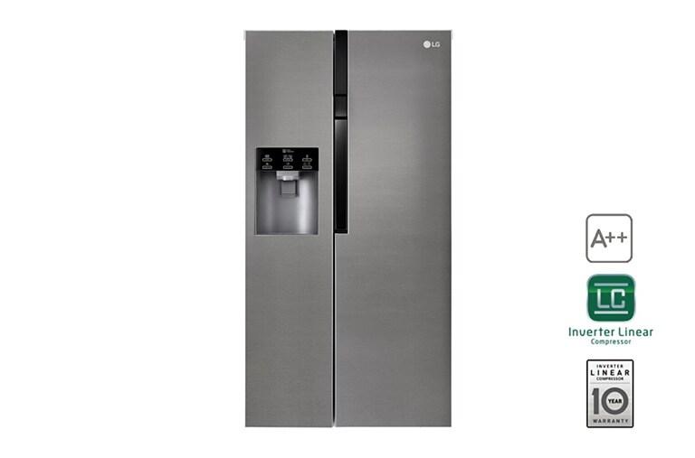 Side By Side Kühlschrank Technische Zeichnung : Lg gsl icez side by side kühlschrank a lg deutschland